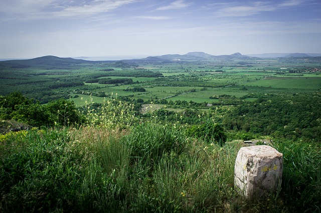 Maďarská krajina u Balatonu