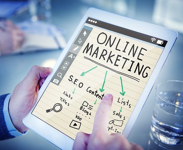 online marketing v tabletu