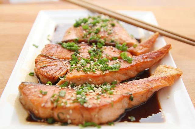 steaky z lososa