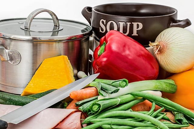 potřeby na polévku