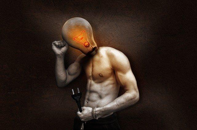 žárovka na těle