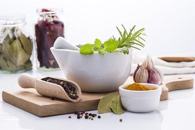 bylinky a koření