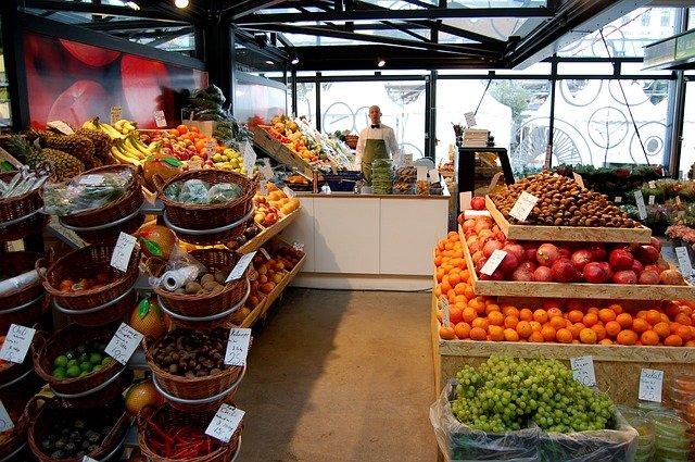 prodejna ovoce