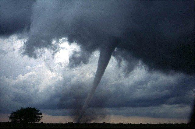 malé tornado
