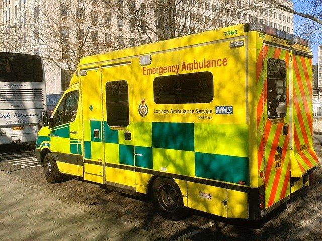 londýnská ambulance